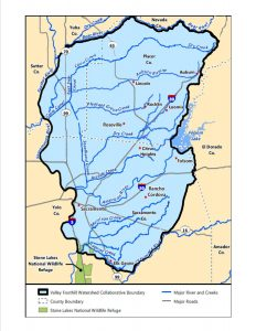 Valley Foothill Watershed Collaborative Boundaries